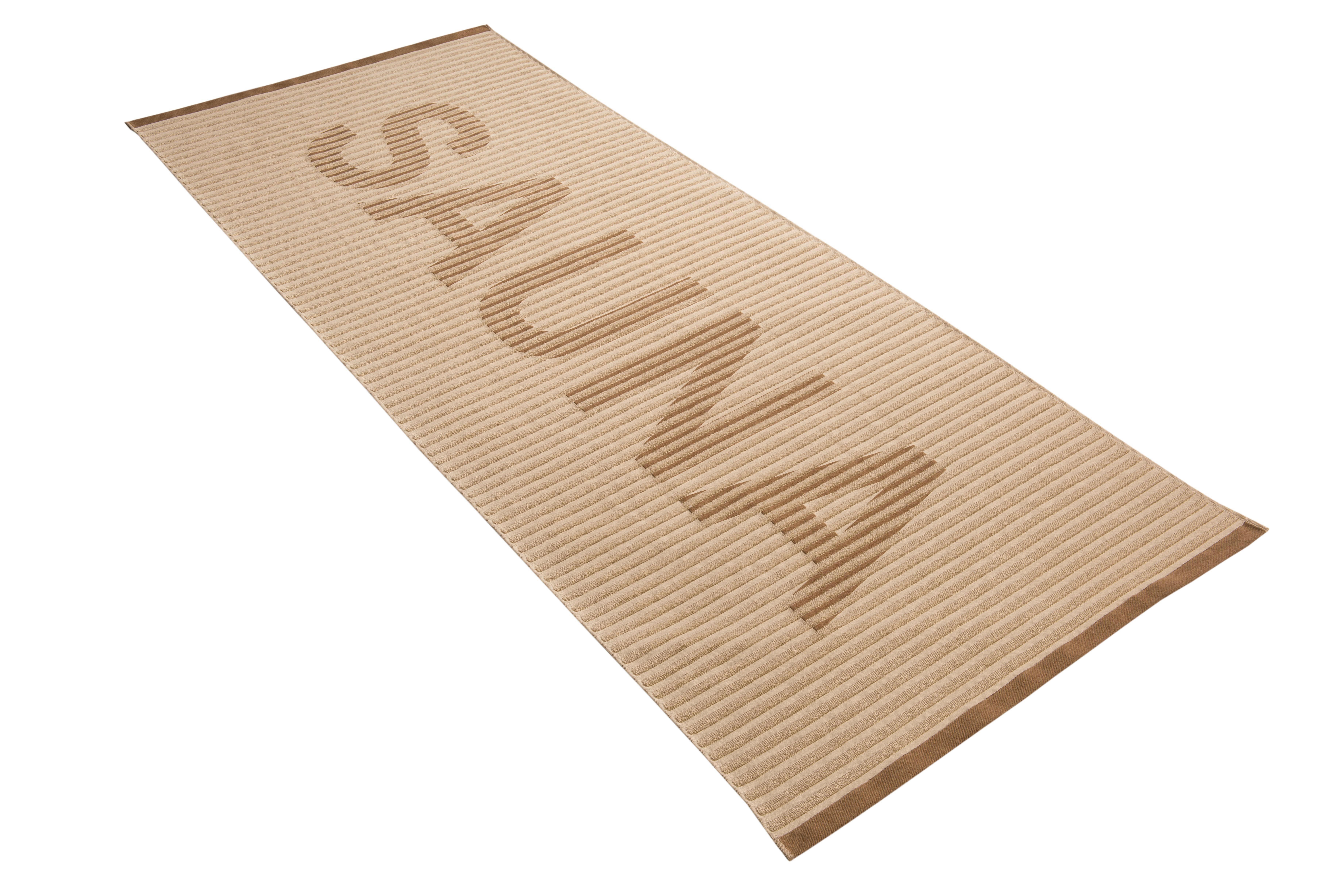 SAUNATUCH 80/200 cm - Haselnussfarben, Basics, Textil (80/200cm) - VOSSEN