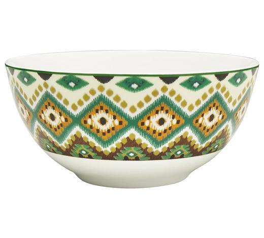 MÜSLISCHALE - Multicolor, Basics, Keramik (15,5cm) - Landscape