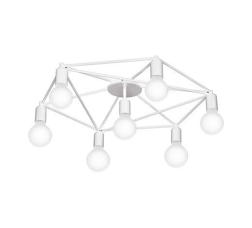 DECKENLEUCHTE - Weiß, Design, Metall (76/14cm)