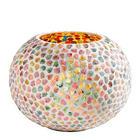 TEELICHTHALTER - Multicolor, Basics, Glas (20/15cm) - AMBIA HOME