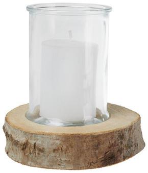 LJUS I GLAS - klar/vit, Basics, glas/trä - Ambia Home