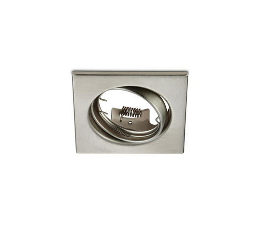 EINBAULEUCHTE JURA  - Nickelfarben, KONVENTIONELL, Metall (8/7/8cm)