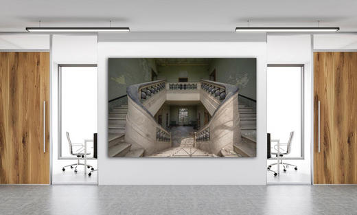Architektur BILD CAN YOU FEEL - Multicolor, Basics, Holzwerkstoff/Kunststoff (150/75cm) - Wiedemann