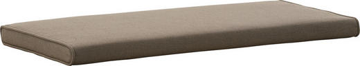 SITZKISSEN - Taupe, Design, Textil (80/3/38cm) - Novel