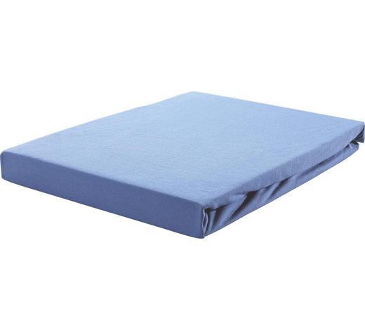 SPANNLEINTUCH 150/200 cm - Blau, Basics, Textil (150/200cm) - Novel