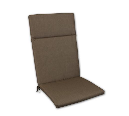 SESSELAUFLAGE Uni  - Hellbraun, Design, Textil (50/120/4cm)
