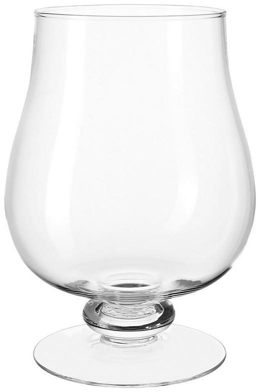 WINDLICHT - Transparent, KONVENTIONELL, Glas (21/30cm) - Leonardo