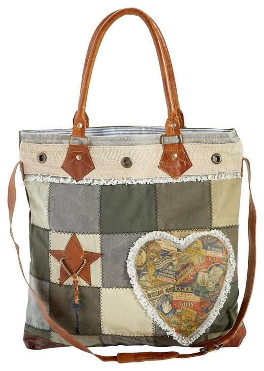 Handtasche - Multicolor, Basics, Leder/Textil (45/45cm) - Ambia Home