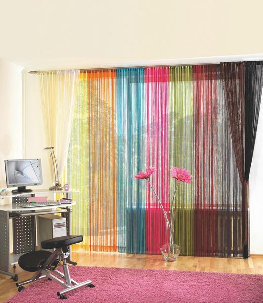 TRÅDGARDIN - vit, Basics, textil (90/245cm) - BOXXX