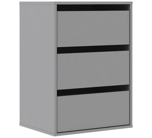 SCHUBKASTENEINSATZ - Grau, Design, Holzwerkstoff (51/70,6/39,60cm) - Carryhome