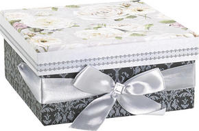FÖRVARINGSBOX - multicolor, Trend, papper/kartong (17/17/8cm) - Boxxx