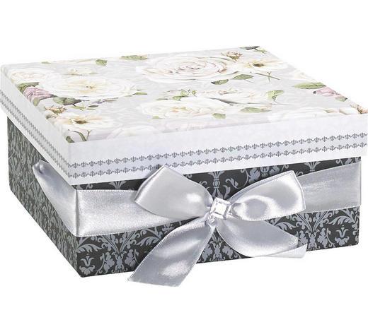 Geschenkbox  - Multicolor, Trend, Karton/Papier (17/17/8cm) - Boxxx