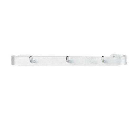 VJEŠALICA ZIDNA - boje aluminija, Konvencionalno, metal (32/3/7cm) - Carryhome