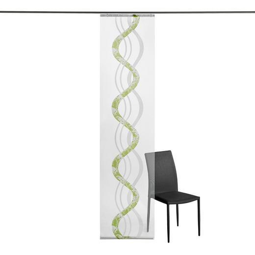 FLÄCHENVORHANG   transparent   60/245 cm - Grün, Design, Textil (60/245cm) - Novel