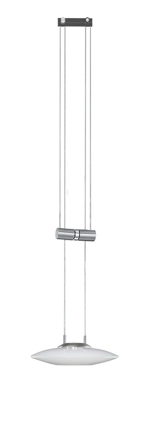 LED-HÄNGELEUCHTE - Nickelfarben, Design, Metall (22/150cm) - BANKAMP