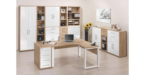 SCHUBKASTENEINSATZ - Weiß, KONVENTIONELL, Holzwerkstoff (75,6/51/37cm) - Voleo