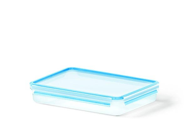 FRISCHHALTEDOSE 2,6 L - Blau/Transparent, Basics, Kunststoff (32.7/22.7/6cm) - EMSA