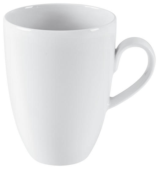KAFFEEBECHER - Weiß, Keramik (0,37l) - Seltmann Weiden