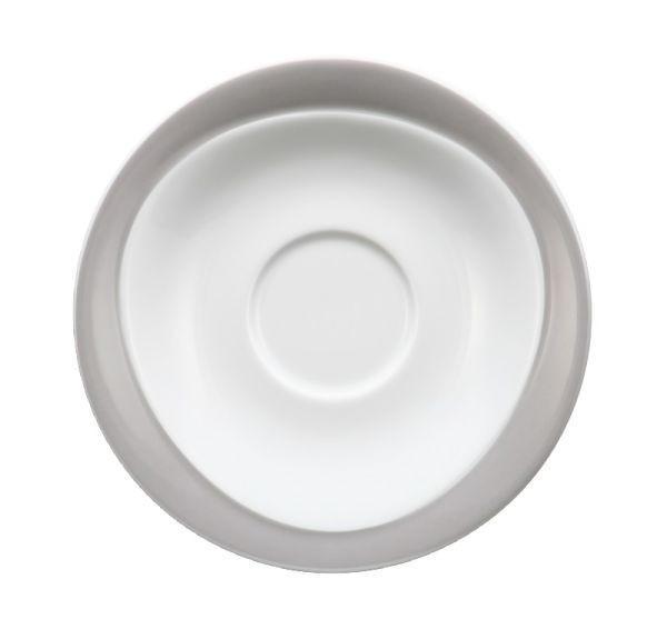 UNTERTASSE - Weiß/Grau, Basics (17,5cm) - SELTMANN WEIDEN