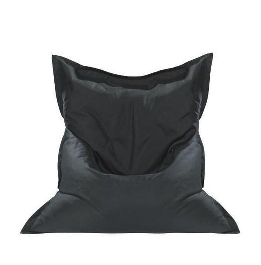 SEDACÍ PYTEL - černá, Design, textilie (180/14/140cm) - Boxxx