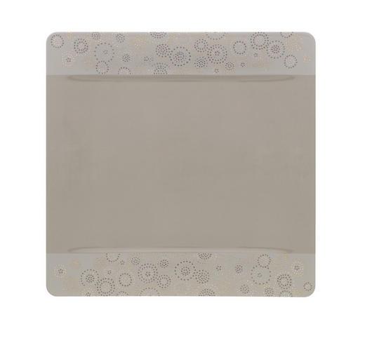 TELLER Keramik Porzellan - Grau, Design, Keramik (35/35cm) - Villeroy & Boch