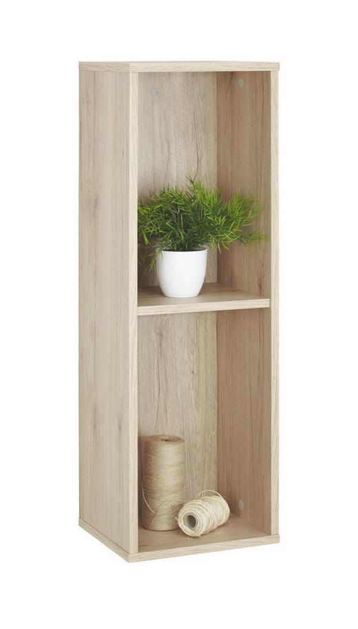 REGAL in Eichefarben - Eichefarben, Design, Holzwerkstoff (30 90 26cm)