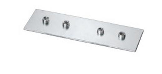 VERBINDER 8 cm - Alufarben, Basics, Metall (8cm) - Homeware