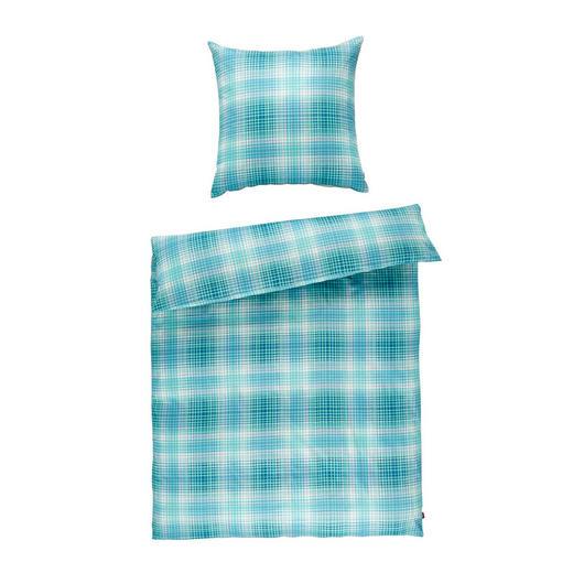 Marken Bettwäsche Satin Blau 135/200 cm - Blau, Design, Textil (135/200cm) - S. Oliver