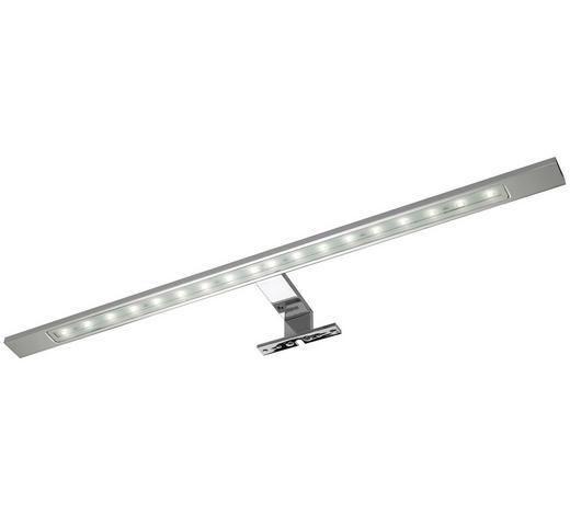 AUFBAULEUCHTE LED-Leuchtmittel  - Chromfarben, Basics, Metall (60/3,5/11cm) - Sadena