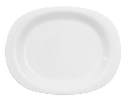 SERVIERPLATTE - Weiß, Basics, Keramik (34cm) - Villeroy & Boch
