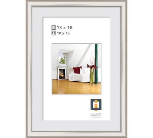 BILDERRAHMEN in Silberfarben  - Silberfarben, KONVENTIONELL, Glas/Kunststoff (15/20cm)