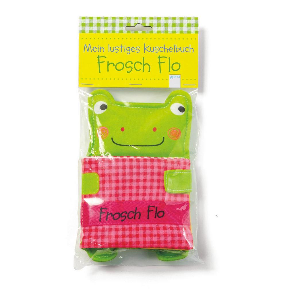 Kuschelbuch 'Frosch Flo'