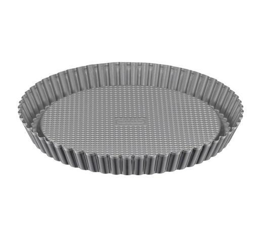 OBSTKUCHENFORM - Dunkelgrau, Design, Metall (28cm) - Kaiser