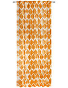 FERTIGVORHANG  halbtransparent  135/245 cm - Gelb, KONVENTIONELL, Textil (135/245cm) - Esposa