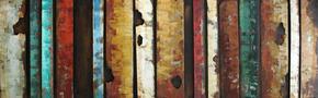 METALLTAVLA - multicolor, Trend, metall (180/55cm) - Monee