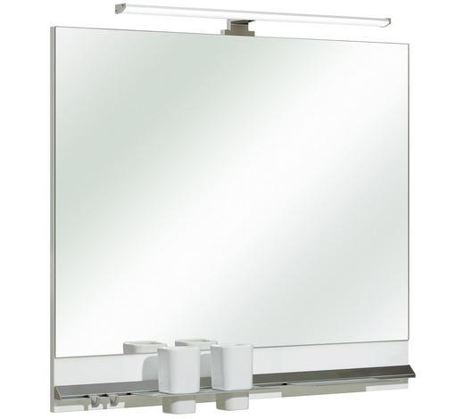 SPIEGEL 80/70/3 cm - Design, Glas/Holzwerkstoff (80/70/3cm) - Xora