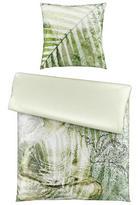 BETTWÄSCHE Satin Grün 135/200 cm - Grün, Design, Textil (135/200cm) - Linea Natura