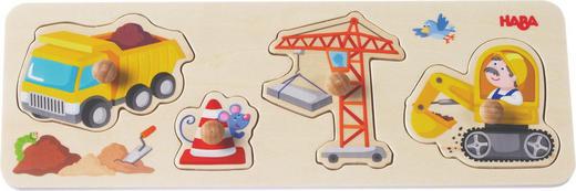 Greifpuzzle - Multicolor, Basics, Holz (30/10cm) - Haba