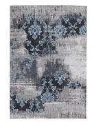 VINTAGE-TEPPICH - Blau/Grau, Trend, Textil (40/60cm) - Novel