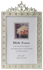 OKVIR ZA FOTOGRAFIJU - boje srebra, Basics, papir/staklo (12,5/20cm) - AMBIA HOME