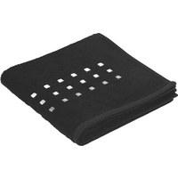 HANDDUK - svart, Klassisk, textil (50/100cm) - Esposa