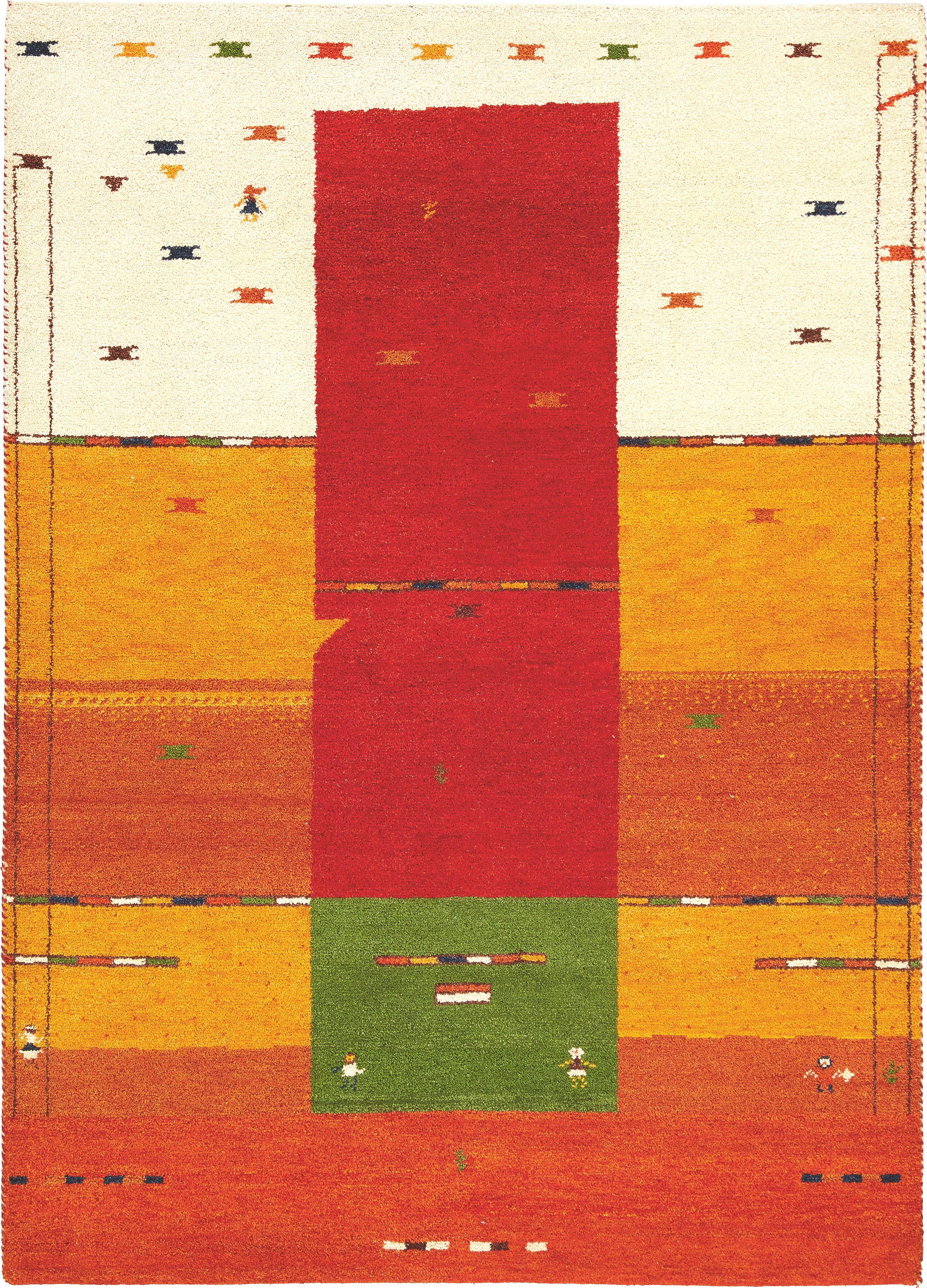 ORIENTALISK MATTA - orange/röd, Design, textil (300/400cm) - Esposa