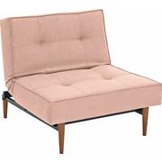 KŘESLO, růžová, textil, - barva jilmu/tmavě hnědá, Design, dřevo/textil (90/79/115cm) - Innovation