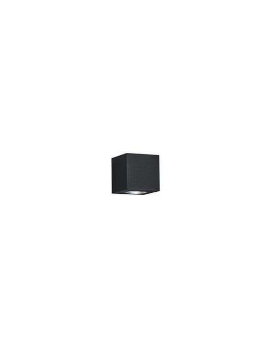 AUßENWANDLEUCHTE Graphitfarben - Graphitfarben, MODERN, Metall (8/8/8cm) - Helestra