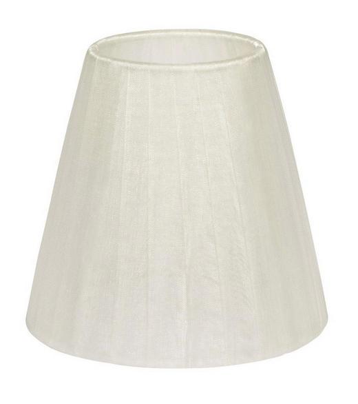 LEUCHTENSCHIRM  Weiß  Textil - Weiß, Basics, Textil (14/13cm)