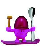 PODSTAVEK ZA JAJCA MCEGG - roza, Basics, kovina/umetna masa (11cm) - WMF