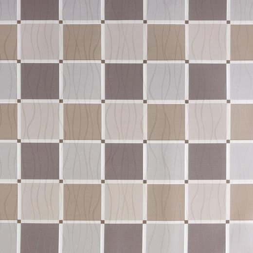 TISCHDECKE - Hellbraun/Dunkelbraun, KONVENTIONELL, Textil (138cm)