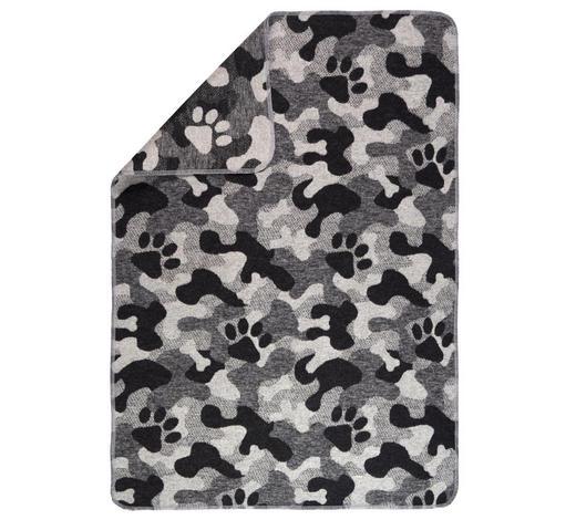 KUSCHELDECKE 70/90 cm - Grau, KONVENTIONELL, Textil (70/90cm) - David Fussenegger
