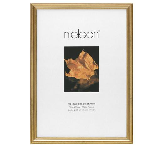 BILDERRAHMEN in Goldfarben  - Goldfarben, Basics, Holz (18/24cm) - Nielsen