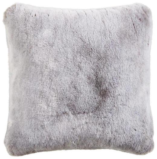 KISSENHÜLLE Silberfarben 48/48 cm - Silberfarben, KONVENTIONELL, Textil (48/48cm) - Ambiente